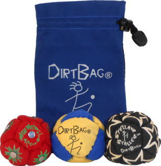 Dirtbag All Star Three Pack with pouch