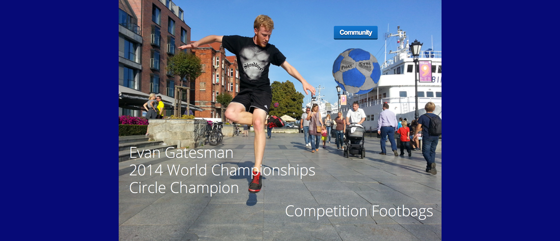 Competition Footbags