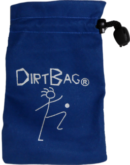 Dirtbag Footbag Suede Pouch | Flying Clipper Footbag Supplies