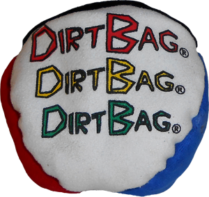 DirtBag 4-Panel Footbag | Hacky Sack for beginners and pros, by Flying Clipper