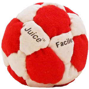 Juice Facile Dirtbag Footbag  | Flying Clipper Footbag Supplies