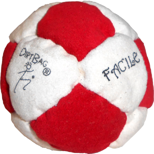 Sand Filled Footbag | Tangent Facile Dirtbag  | Flying Clipper Footbag Supplies