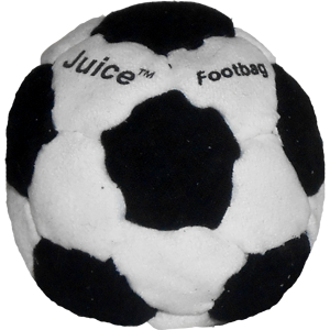 Juice Pellet-Filled Footbag |  Flying Clipper Footbag Supplies