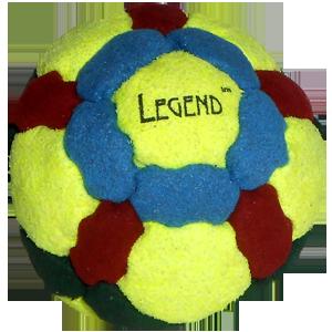 Legend Pellet-Filled Footbag |  Flying Clipper Footbag Supplies