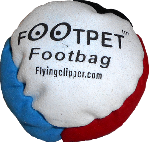 Footpet Footbag |  Flying Clipper Footbag Supplies