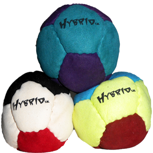 Dirtbag Hybrid Special 3-Pack, Footbag/Hacky Sacks by Flying Clipper - Save $4!