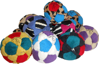 Juice Facile Dirtbag Jr Footbag  | Flying Clipper Footbag Supplies