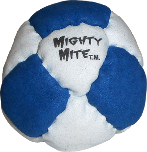 Dirtbag Mighty Mite Footbag  | Flying Clipper Metal Filled Footbags