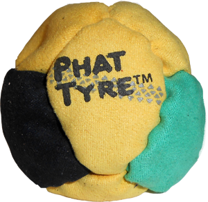 Phat Tyre Footbag  | Flying Clipper Metal Filled Footbags