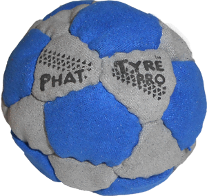 Phat Tyre Pro Footbag  | Flying Clipper Metal Filled Footbags