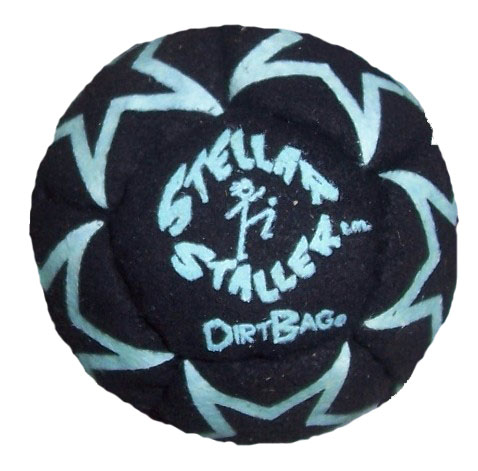 Glow in the Dark Footbag | Flying Clipper Metal Filled Footbags