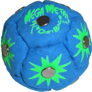 Mega Metal Dirtbag Footbag | Flying Clipper Metal Filled Footbags