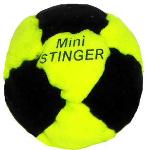 Dirtbag Mini-Stinger Steel Pellet Filled Footbag | Metal Filled Footbags