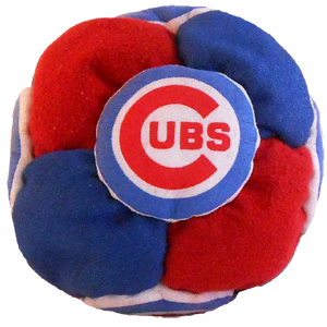 Chicago Cubs 14-panel Dirtbag Footbag