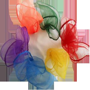 Tossaball Juggle Scarves 6 Pack