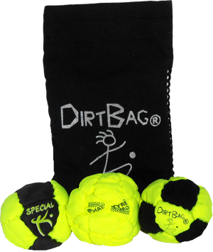 Dirtbag Pro's 3 Pack With Pouch