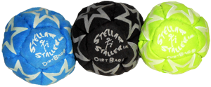 Glow in the dark footbag fun 3 pack