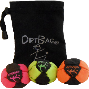 Dirtbag Special K 3 Pack w/Pouch