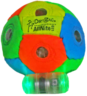 Dirtbag AllNite LED Footbag