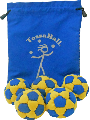 PT Pro 70 5 Pack W/Pouch | Rubber Filled Juggle Balls