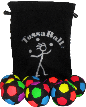 Lil' UB Juggle Ball 7 Pack with Pouch | Odds & Ends