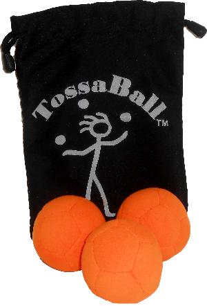 Tossaball Hybrid Juggle Ball 3 Pack   Mixed Fill Juggle Balls