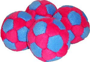 Pro 90 Juggle Ball 4 Pack | Rubber Filled Juggle Balls