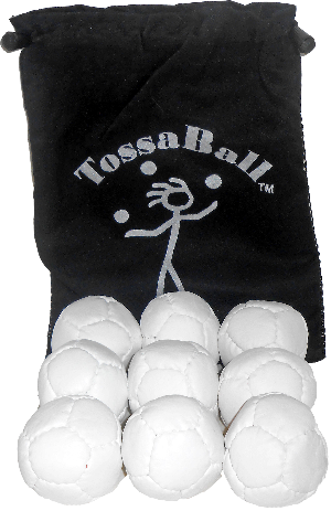 LD Pro 9 Pack Juggle Balls | Mixed Fill Juggle Balls