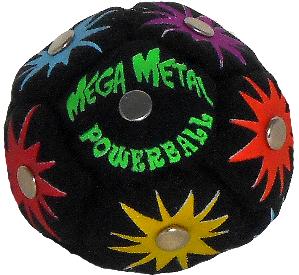 Mega Metal Powerball Footbag