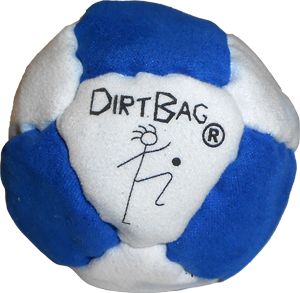 DirtBag 14-Panel Footbag | Hacky Sacks by Flying Clipper