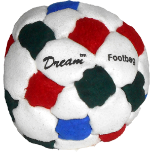 Dream Pellet-Filled Footbag | Flying Clipper Footbag Supplies