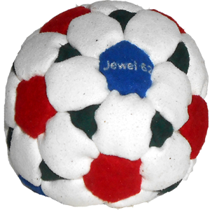 Jewel Pellet-Filled Footbag | Flying Clipper Footbag Supplies