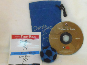 Dirtbag Combo Special   Footbag   Hacky Sack Gift Pack/Starter Kit by Flying Clipper