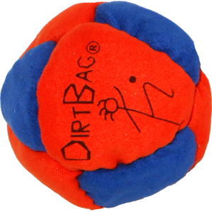 Sand Filled Footbag | Dirtbag Classic 8 Footbag by Flying Clipper
