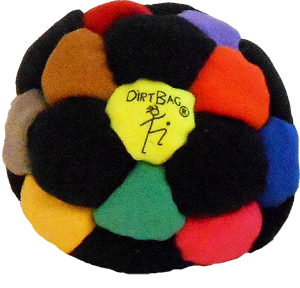 Sand Filled Footbag | DirtBag 32-Panel Footbag   | Flying Clipper Footbag Supplies