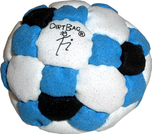 DirtBag 50-Panel Footbag | Flying Clipper Footbag Supplies
