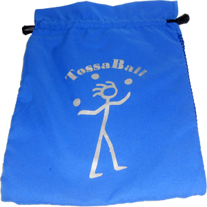 Juggling Balls | Tossaball Juggle Ball Pouch | Flying Clipper Juggling Supplies