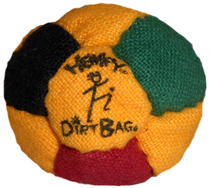 Hemp Footbag  14-Panel  | Flying Clipper Footbag Supplies