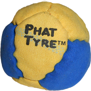 Phat Tyre Sport Footbag by Flying Clipper