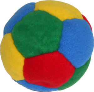 Tossaball Plush Puppy by Flying Clipper