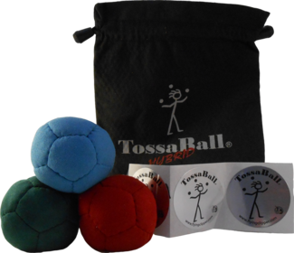 Image Ultra Soft 2.45 Juggle Ball Starter 3 Pack with Pouch