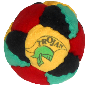 Trojan Sand, Rubber and Metal filled footbags