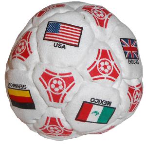 World Cup Dirtbag 32-Panel Footbag   | Flying Clipper Footbag Supplies