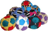 Juice Facile Dirtbag® Jr Footbag with pouch