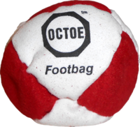 Image Octoe Pellet-Filled Footbag