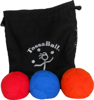 Image Plush Puppy Juggle Ball 3 Pack Super Saver