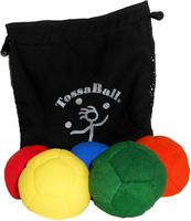 Image Plush Puppy Juggle Ball 5 Pack Super Saver