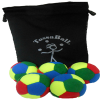 Image Plush Puppy Juggle Ball 5 Pack Super Saver