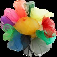 Image Tossaball Juggle Scarves 12 Pack