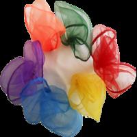 Image Tossaball Juggle Scarves 6 Pack